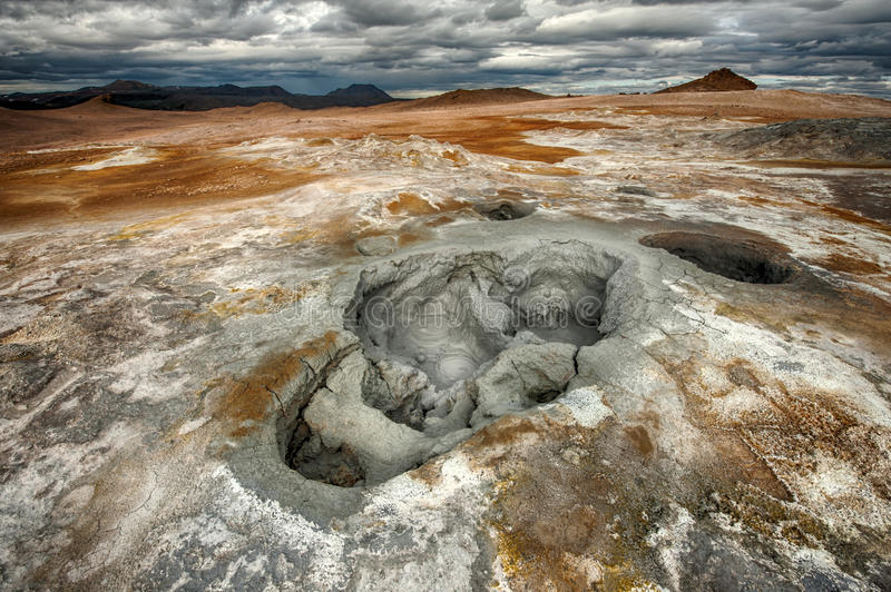 Download Mudpot stock image. Image of ground, fumarole, nature - 34303995