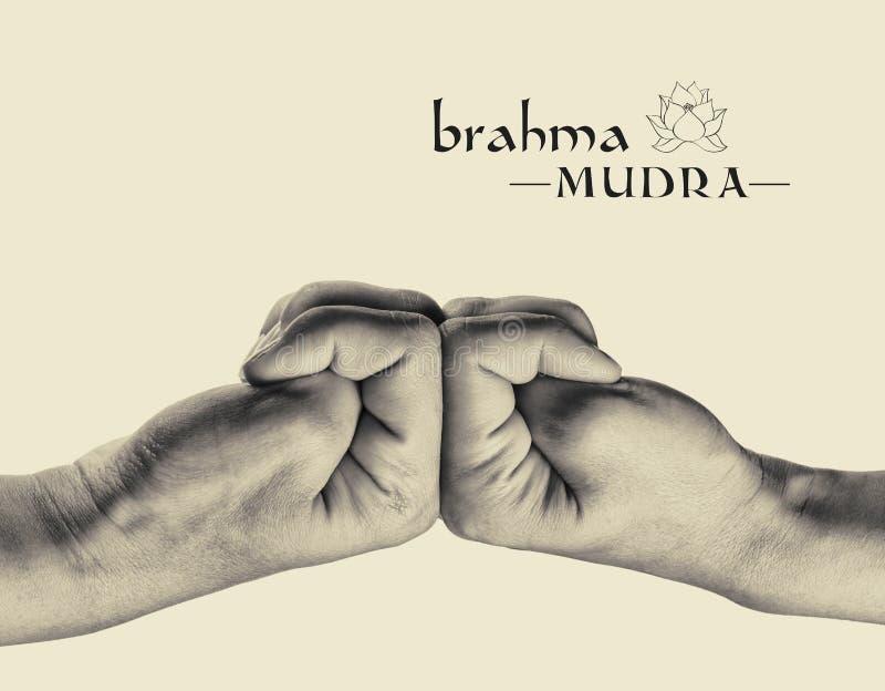 Mudra Brahma стоковое изображение