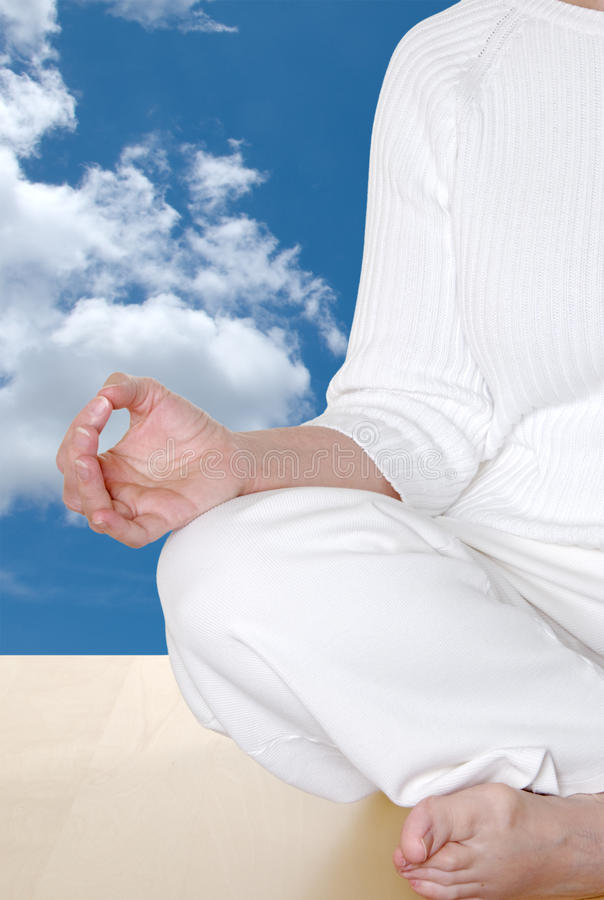 Mudra In The Sky royalty free stock image