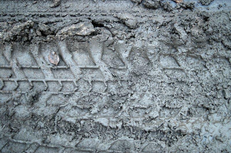 mudspår royaltyfria foton