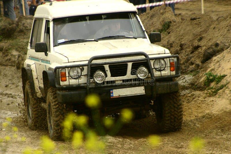 mudväg royaltyfri foto