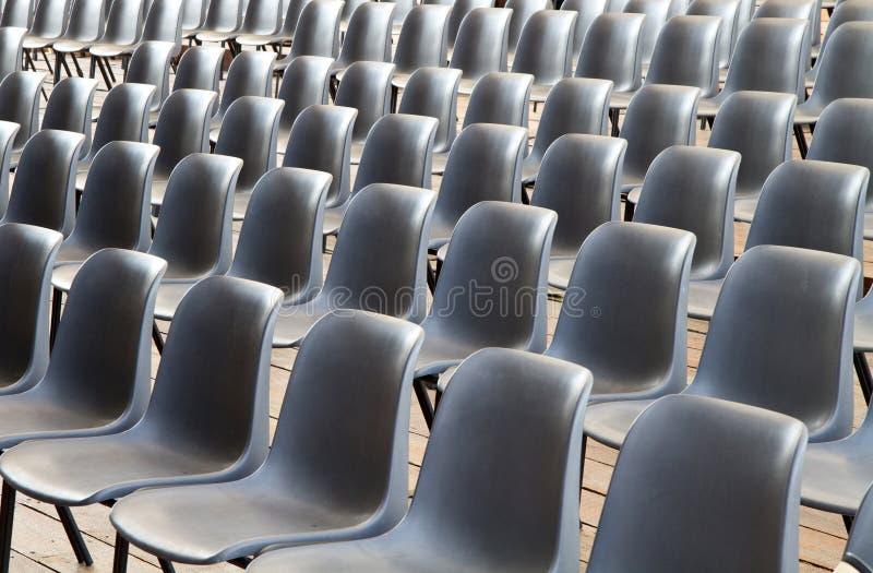 Muebles cómodos para los acontecimientos foto de archivo libre de regalías