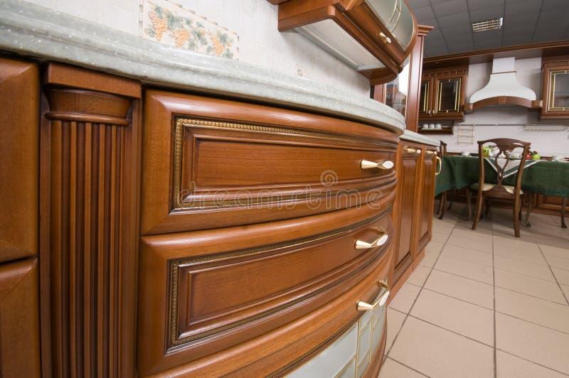 Muebles Caseros De La Cocina. Imagen de archivo - Imagen de interior ...