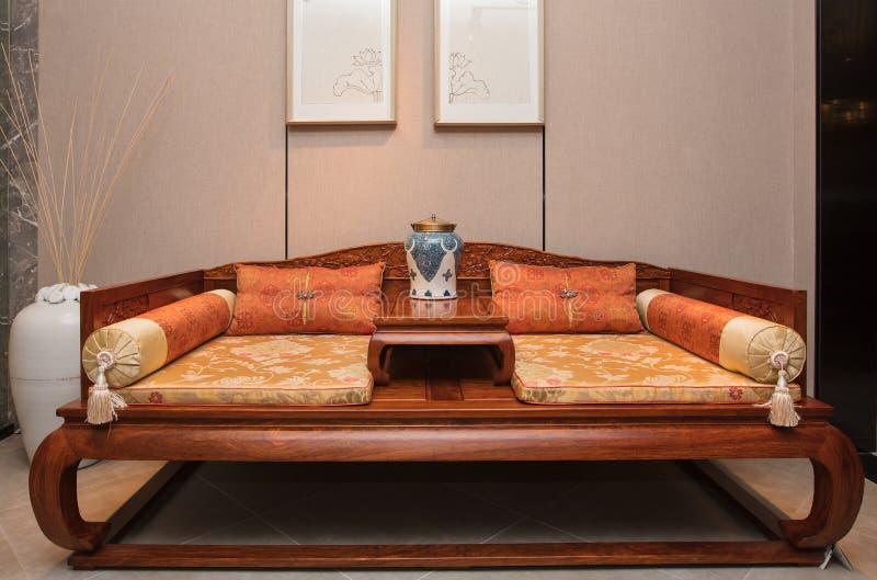 Muebles de caoba chinos modernos fotos de archivo