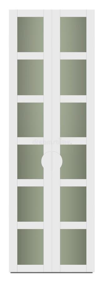 Muebles de la casa - guardarropa moderno stock de ilustración