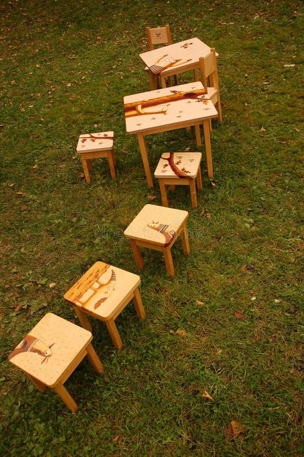Muebles de madera fotos de archivo libres de regalías