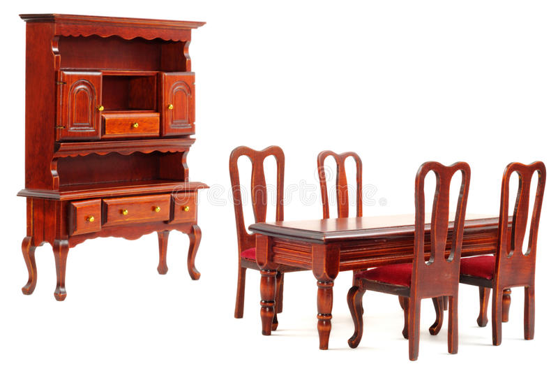 Muebles de madera foto de archivo libre de regalías