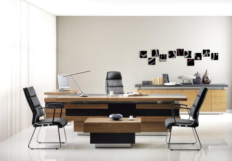 Muebles de oficinas del VIP imágenes de archivo libres de regalías