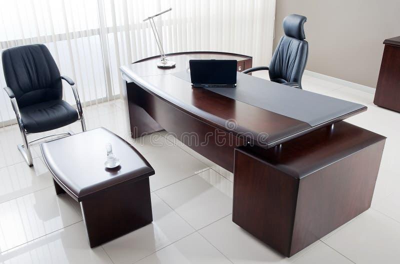 Muebles de oficinas del VIP fotografía de archivo libre de regalías