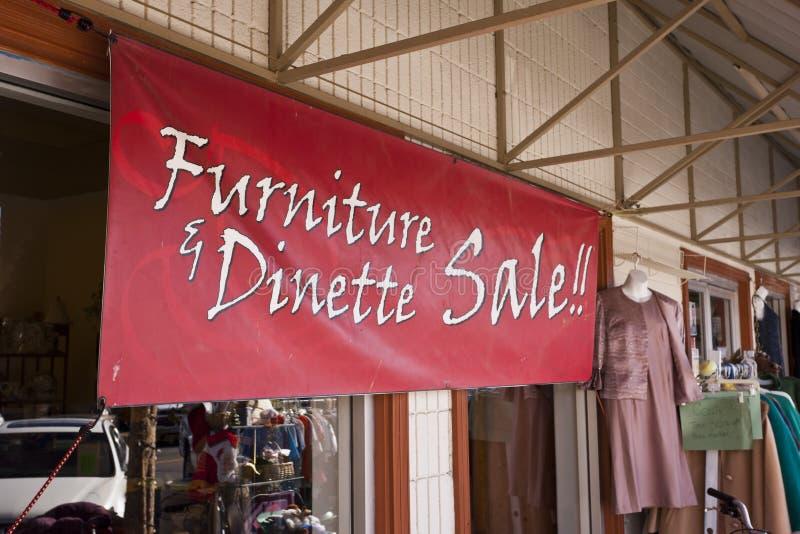 Muebles y venta de Dinette fotos de archivo