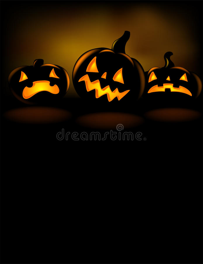 Mueca de la linterna de Halloween libre illustration