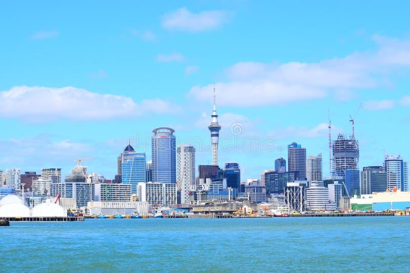 Muelle de Auckland imagen de archivo libre de regalías