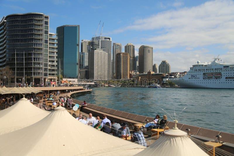 Muelle de la circular de Sydney fotos de archivo libres de regalías