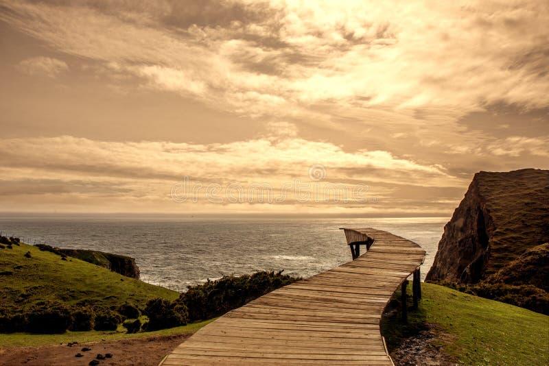 `Muelle de las Almas` Chiloe island royalty free stock image