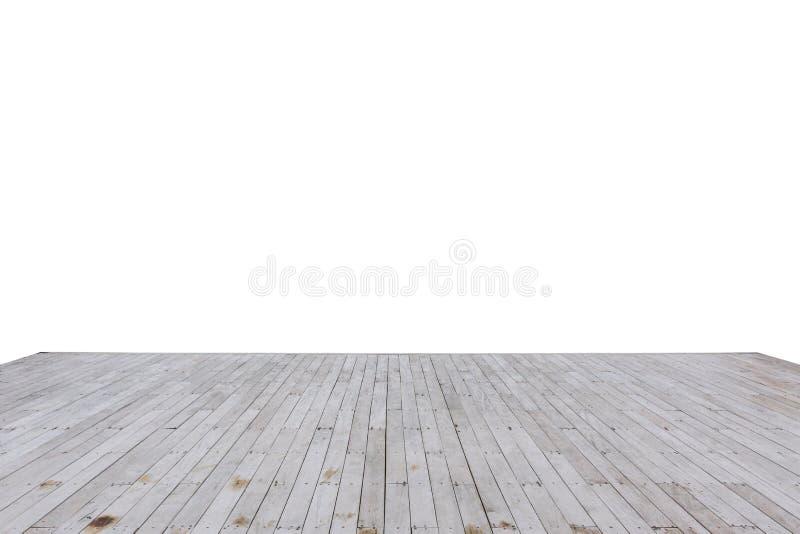 Muelle de madera de la bahía aislado foto de archivo libre de regalías