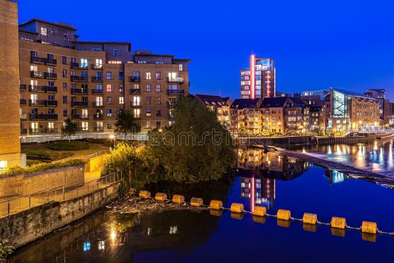 Muelle del clarence de Leeds fotos de archivo