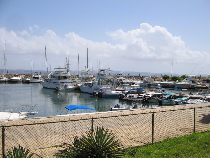 Muelle en Cumana, Venezuela del barco imagen de archivo libre de regalías