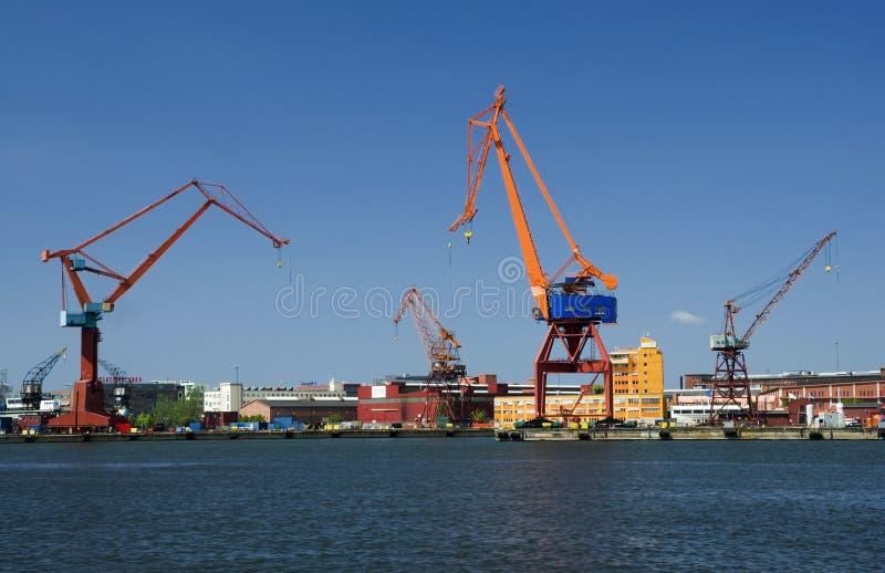 Muelles de Gothenburg imagen de archivo