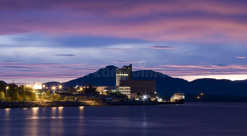 Muelles de Molde fotografía de archivo