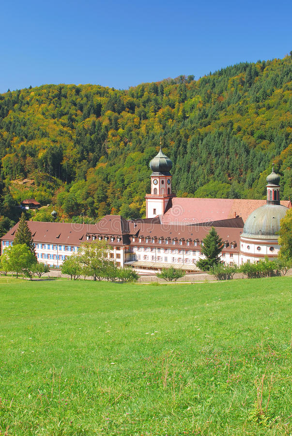 Muenstertal Abbey,Schwarzwald,black Forest,germany Royalty Free Stock Photos