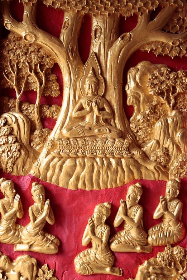 Muerte de Buddha fotografía de archivo