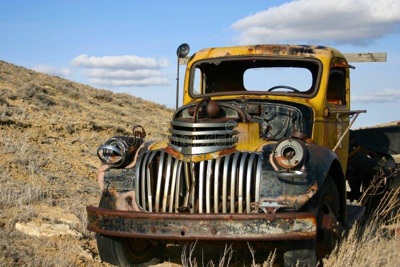 Muerte de un carro fotografía de archivo