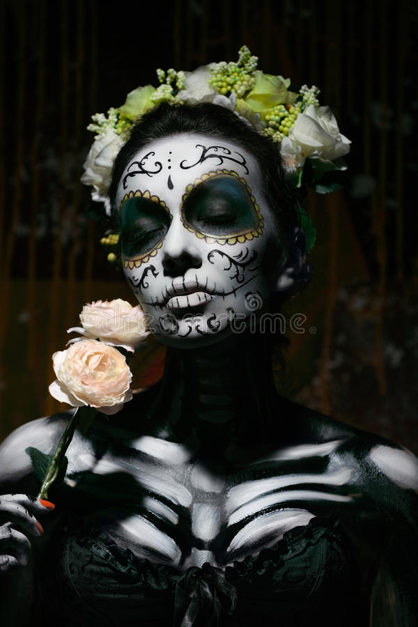 muerte Santa fotografia stock