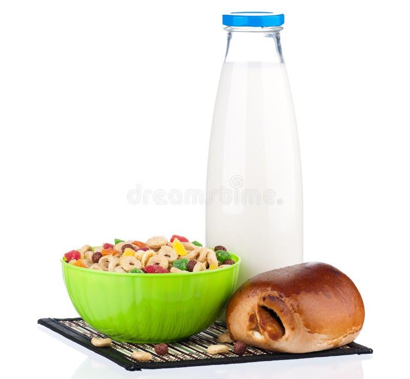 Download Muesli breakfast stock image. Image of dried, drink, beverage - 29154295