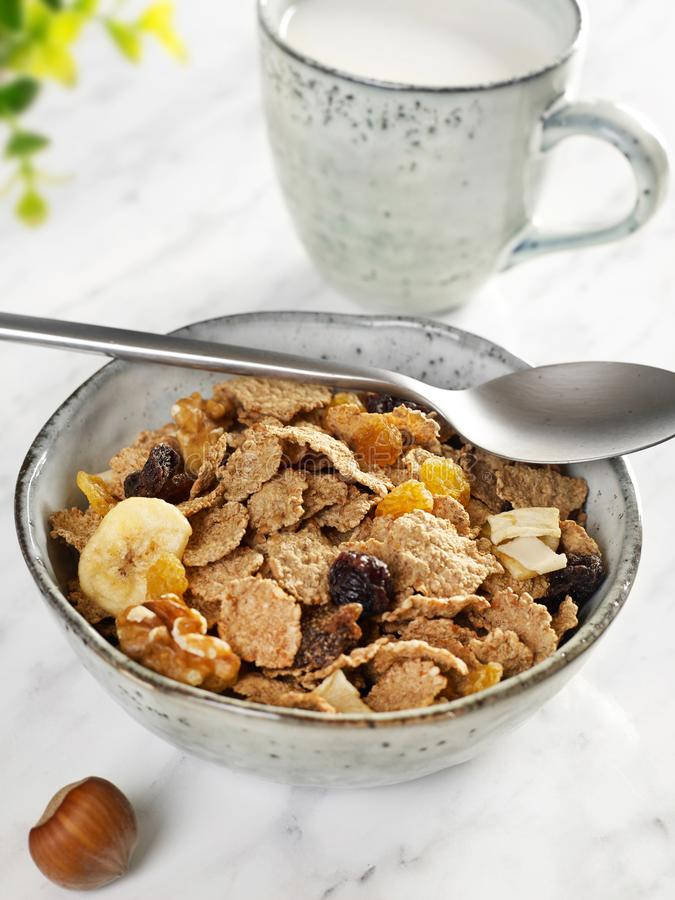 Healthy breakfast closeup royalty free stock photography