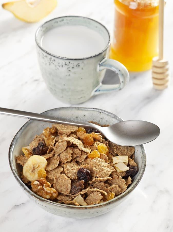 Healthy breakfast closeup royalty free stock photography