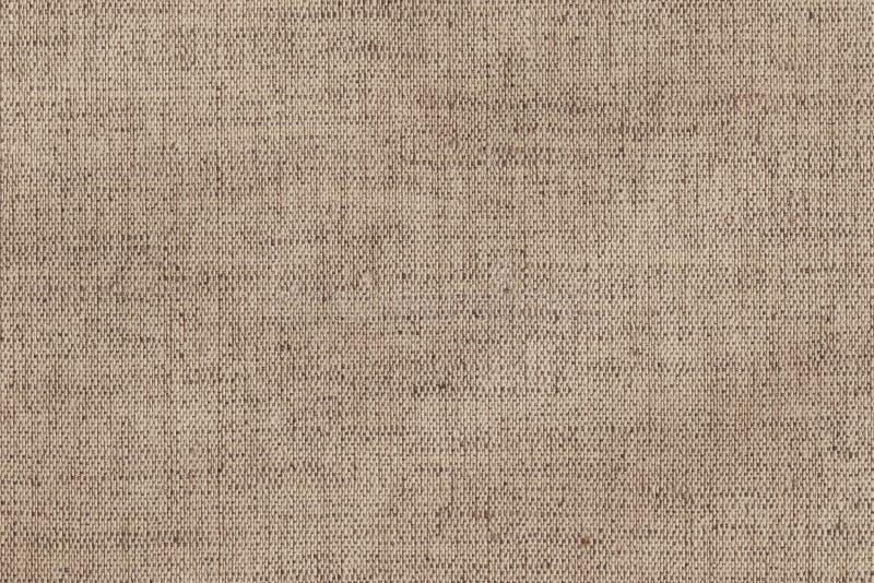 Muestra arrugada gruesa de la textura de la lona de lino de Unprimed del artista foto de archivo libre de regalías