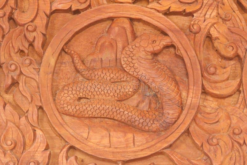Muestra china del animal del zodiaco de la serpiente imagenes de archivo