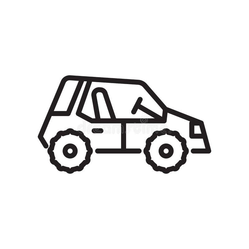 Muestra con errores y símbolo del vector del icono aislados en el fondo blanco ilustración del vector