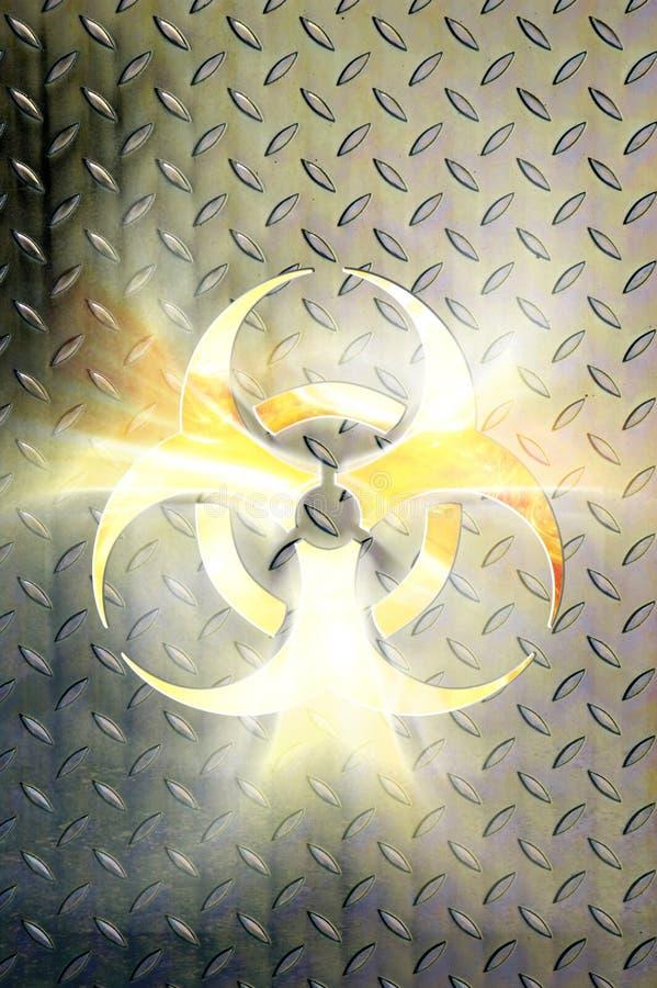 Muestra de Biohazard ilustración del vector