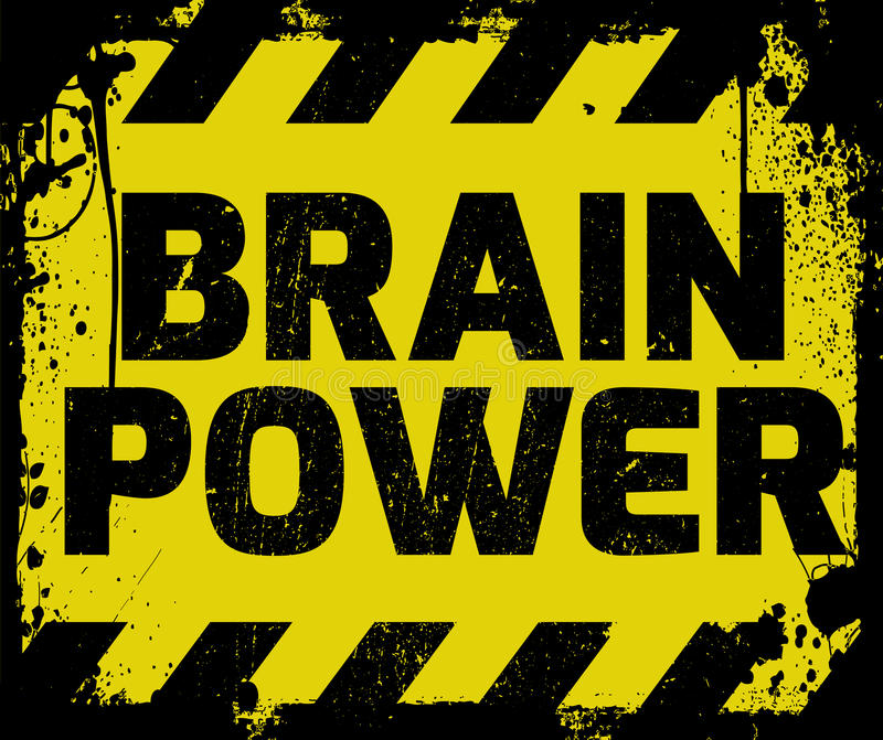 Muestra de Brain Power libre illustration