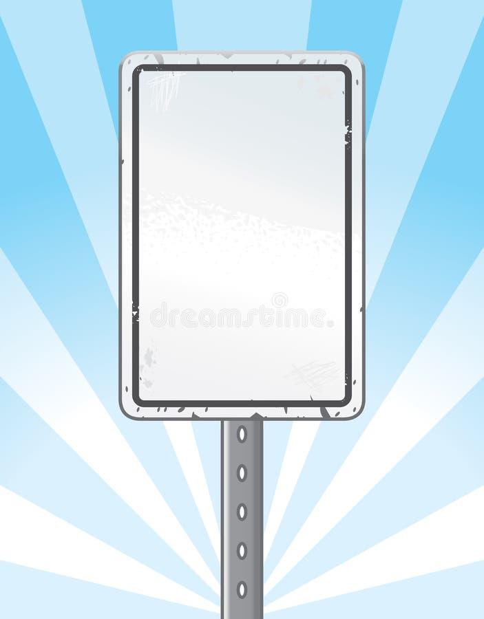 Muestra de camino stock de ilustración