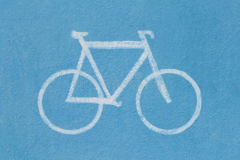 Muestra de camino de la bicicleta imagen de archivo libre de regalías