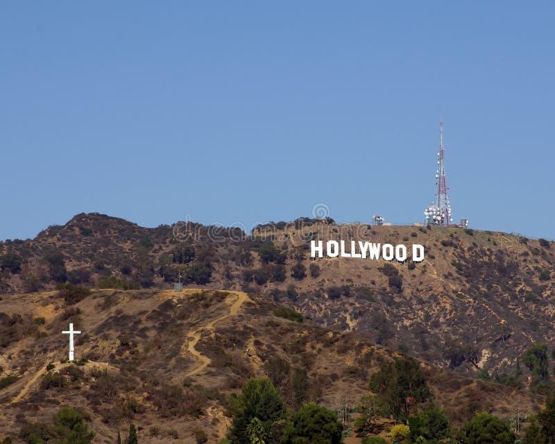 Muestra de Hollywood imagen de archivo