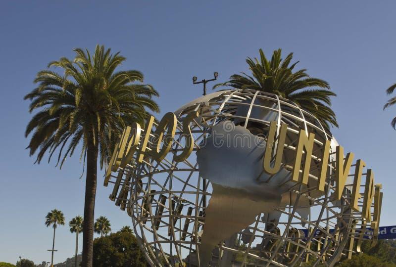 Muestra de Hollywood de los estudios universales imágenes de archivo libres de regalías