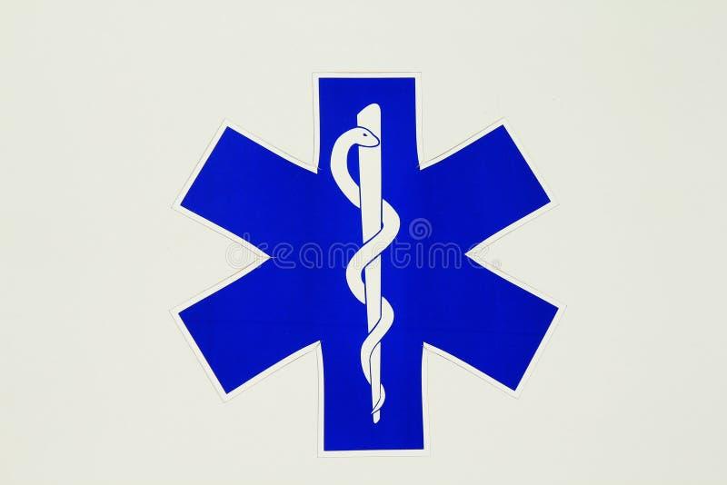 Muestra de la ambulancia ilustración del vector