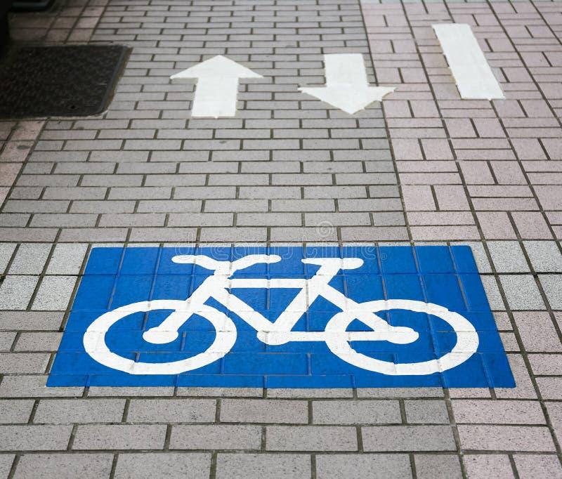 Muestra de la bicicleta fotografía de archivo libre de regalías