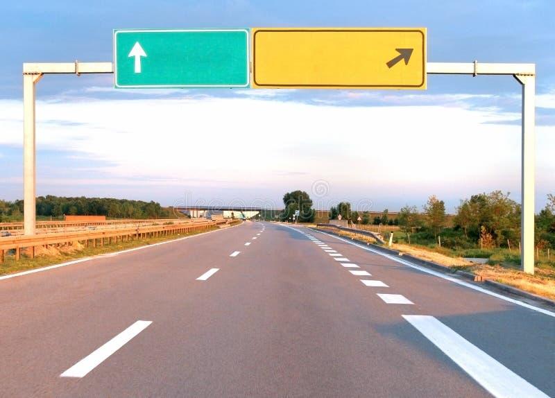 Muestra de la carretera imagen de archivo libre de regalías