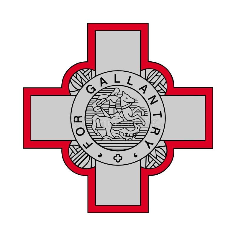 Muestra de la cruz británica de George libre illustration