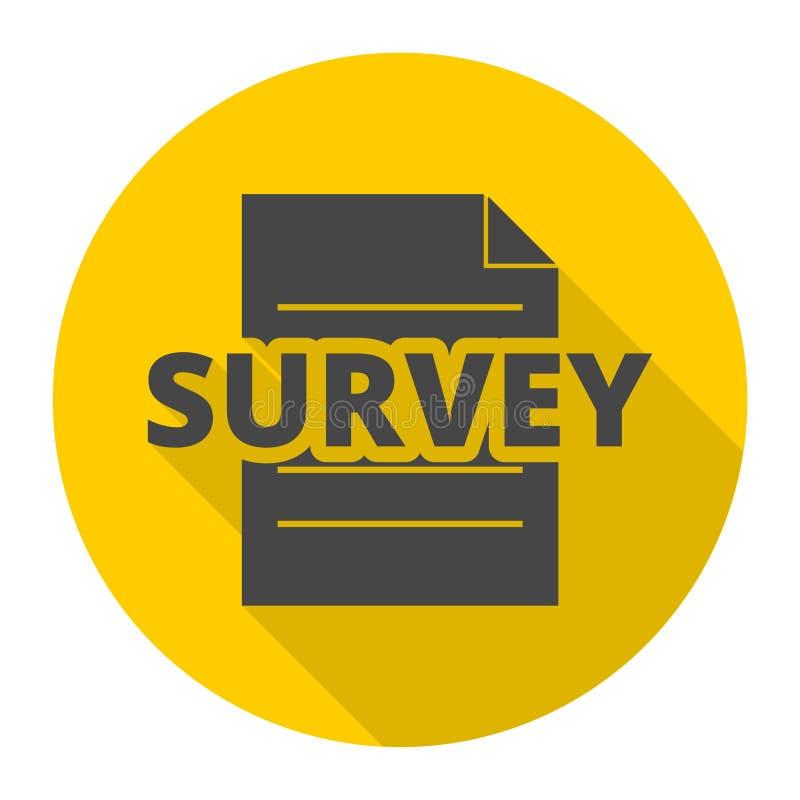 Muestra de la encuesta, icono de la encuesta libre illustration