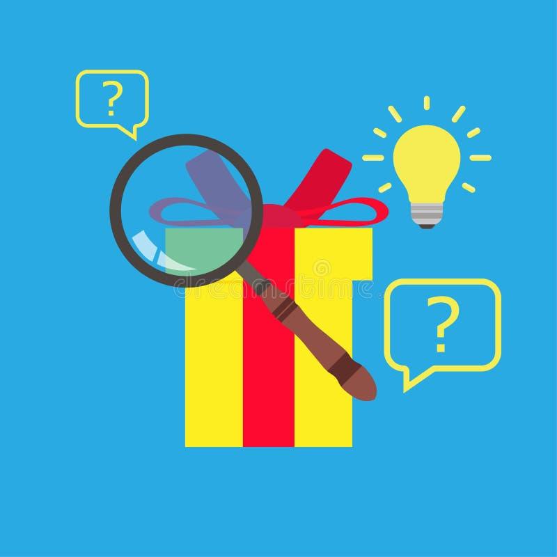 Muestra de la información de Internet del web del vector del icono de la búsqueda Medios en línea de la estrategia de empleo de l stock de ilustración
