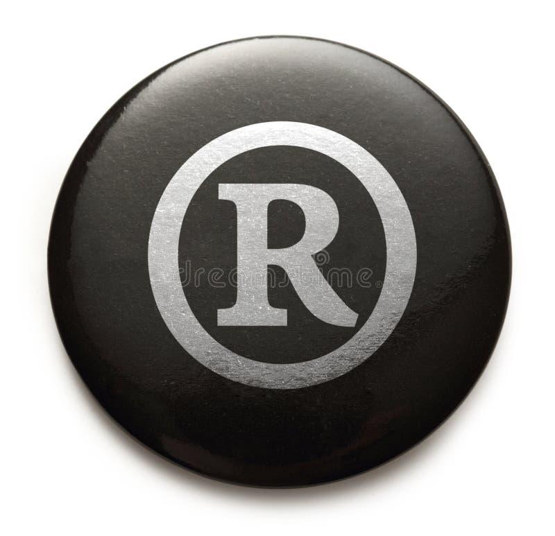 Muestra de la marca registrada fotografía de archivo libre de regalías