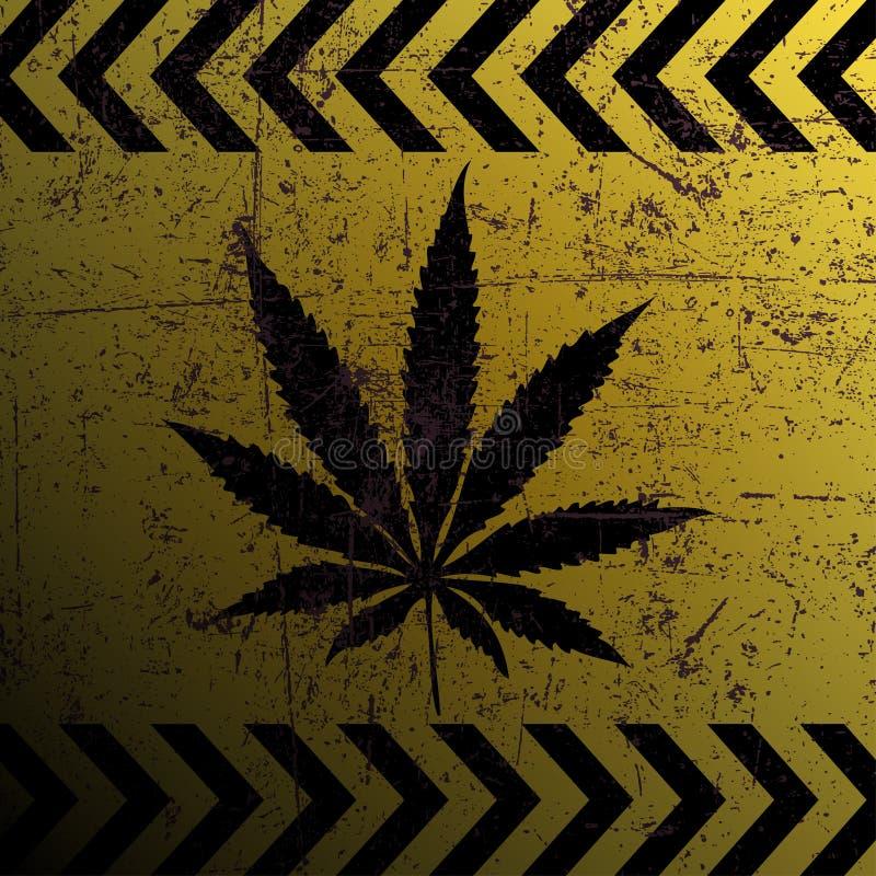 Muestra de la marijuana libre illustration