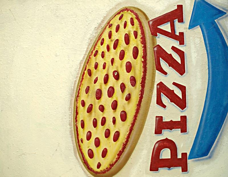 Muestra de la pizza foto de archivo libre de regalías