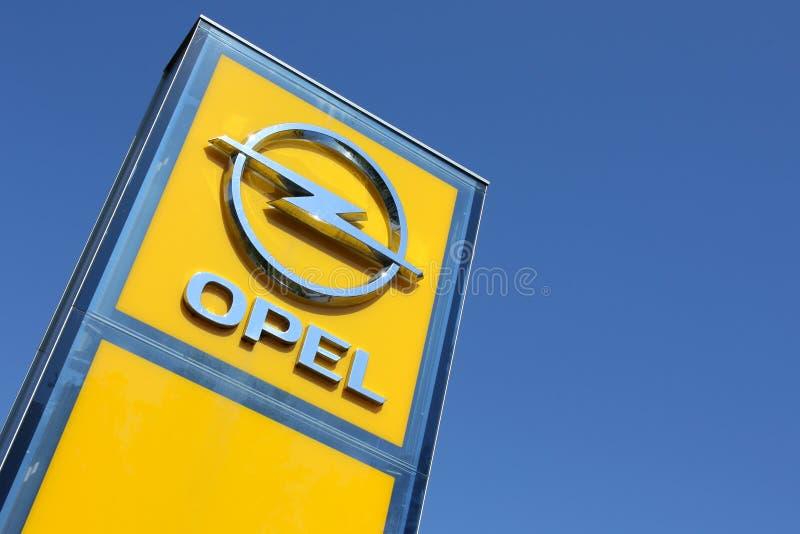 Muestra de la representación de Opel imagenes de archivo