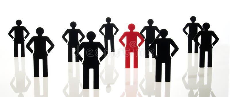 Muestra de las personas de la gente stock de ilustración
